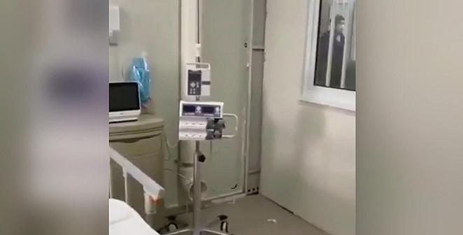 Çin'deki hastaneden ilk görüntüler