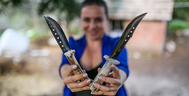 Demir kesen bıçaklar