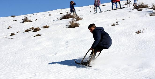 ''Gavik'' ile kayak keyfi