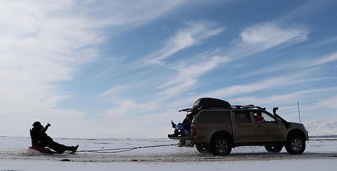 Jeep ile kar serüveni