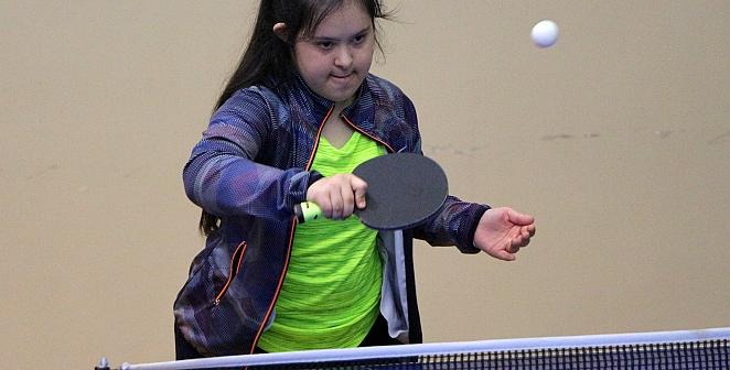 Özel sporcular, masa tenisinde