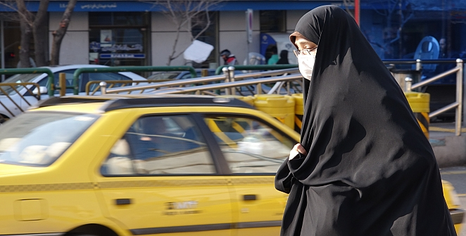 Tahran'da virüs korkusu