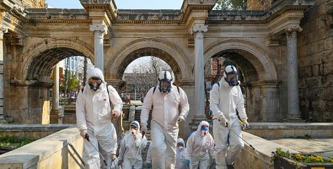 Tarihi yerlerde virüs önlemleri