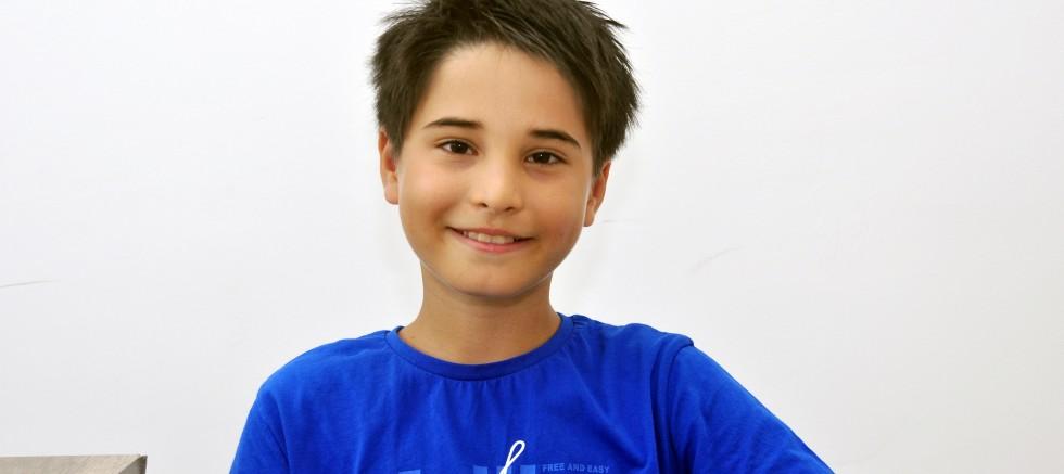 11 yaşındaki Güçlü Bilge, saçlarını kanser hastası çocuklara bağışladı