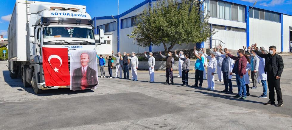 Ankara Büyükşehir Belediyesi'nden İzmir'e yardım