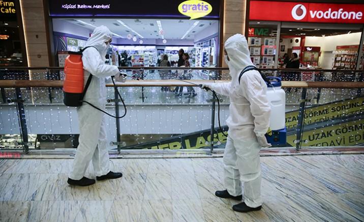 AVM'lerde virüs telaşı