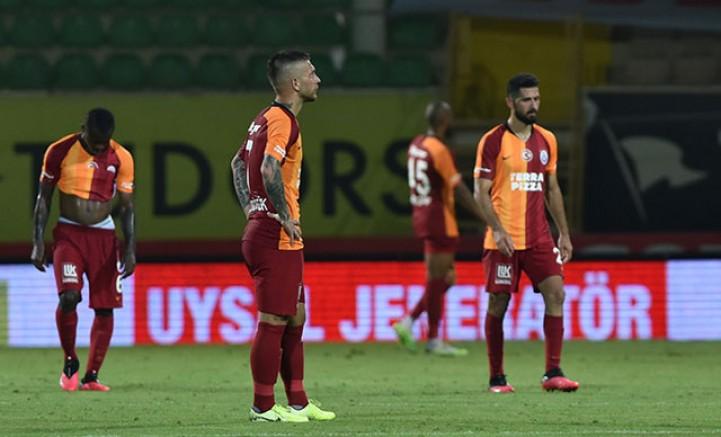 Aytemiz Alanyaspor - Galatasaray: 4-1