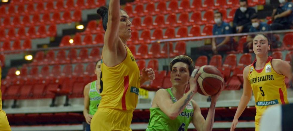 Bellona Kayseri Basketbol - Nesibe Aydın: 62-70