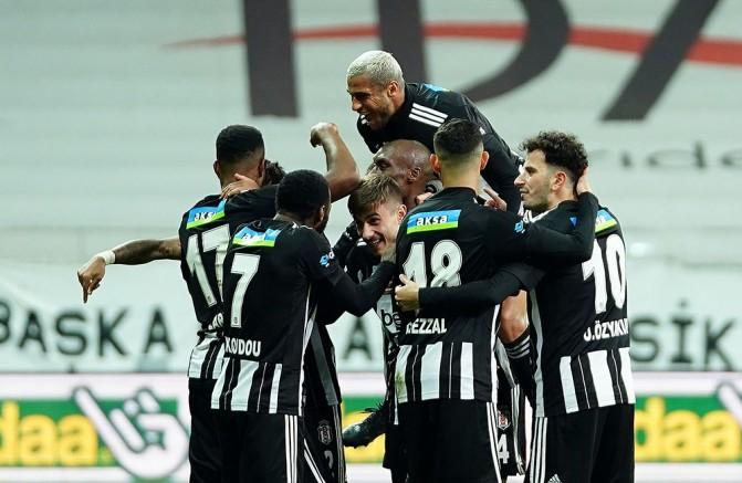 Beşiktaş, 2020'yi ikinci sırada tamamladı