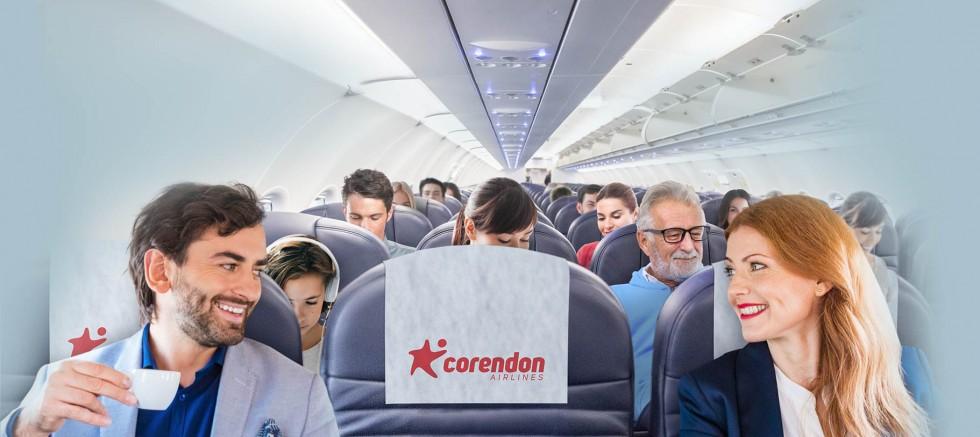 Corendon Airlines'tan 'ikili koltuk' hizmeti