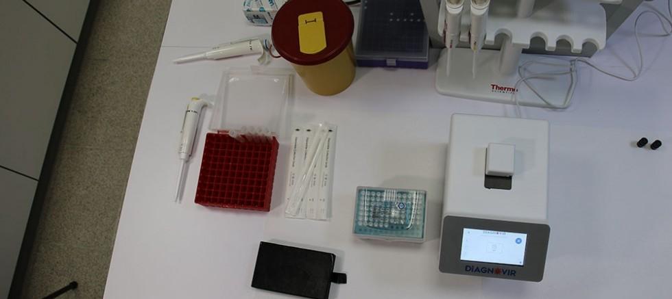 Covid-19 virüsünü 1 dakika içerisinde bulabilen sistem geliştirildi