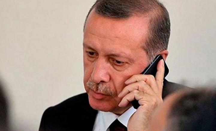 Cumhurbaşkanı Erdoğan'a gelen geçmiş olsun telefonları