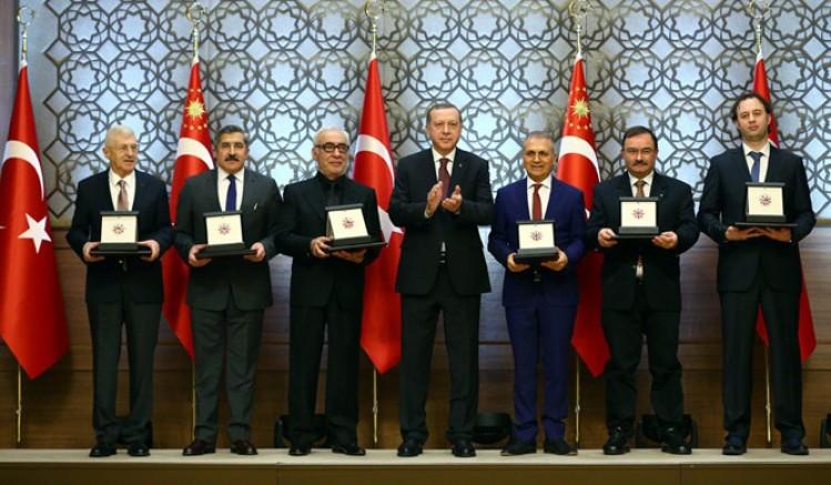 Cumhurbaşkanlığı Kültür Sanat Büyük Ödülleri'nin sahipleri