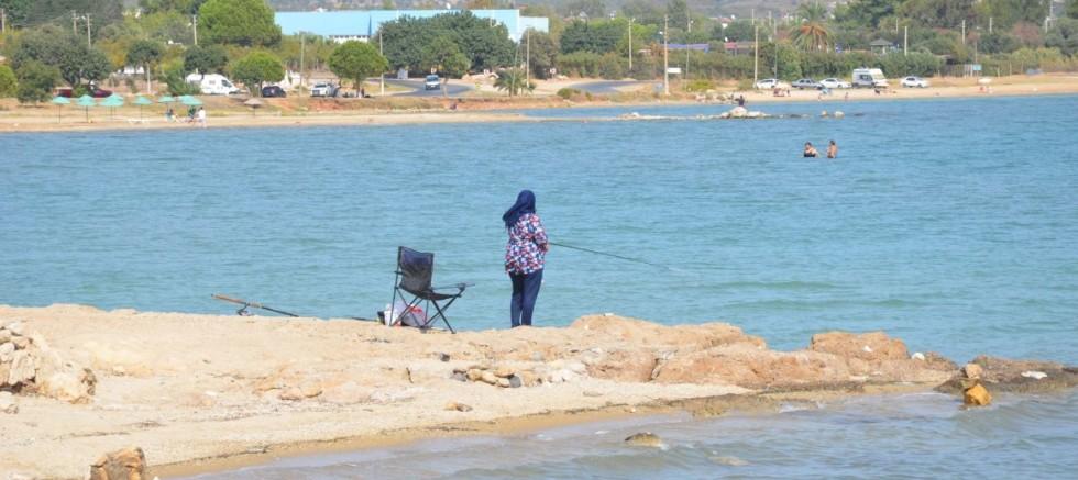 Didim'de plajlar yazı aratmadı