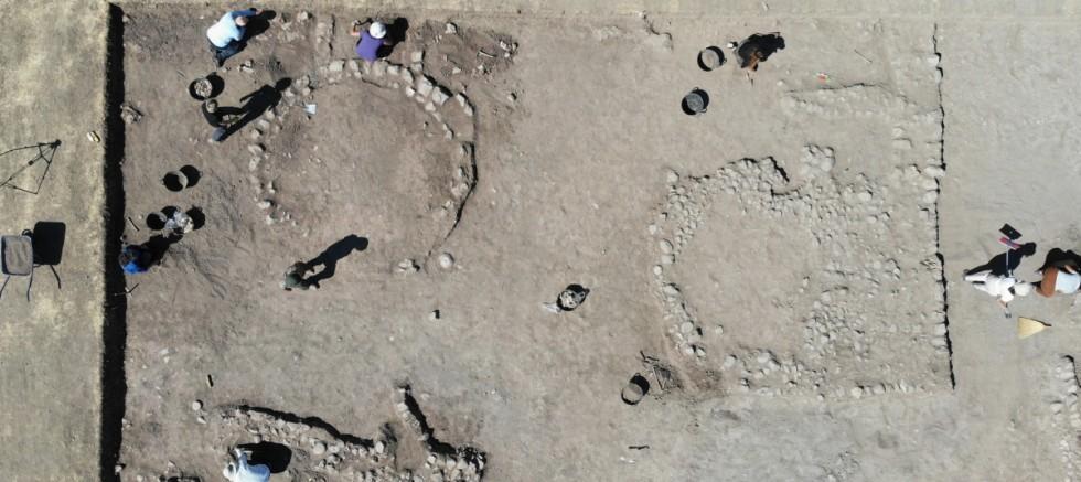 Domuztepe Höyüğü'nde 7 bin 500 yıllık yerleşim yeri bulundu
