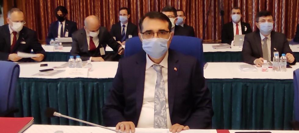 Enerji Bakanı Dönmez'den gaz müjdesi