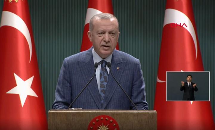 Erdoğan'dan kritik toplantı sonrası önemli açıklamalar