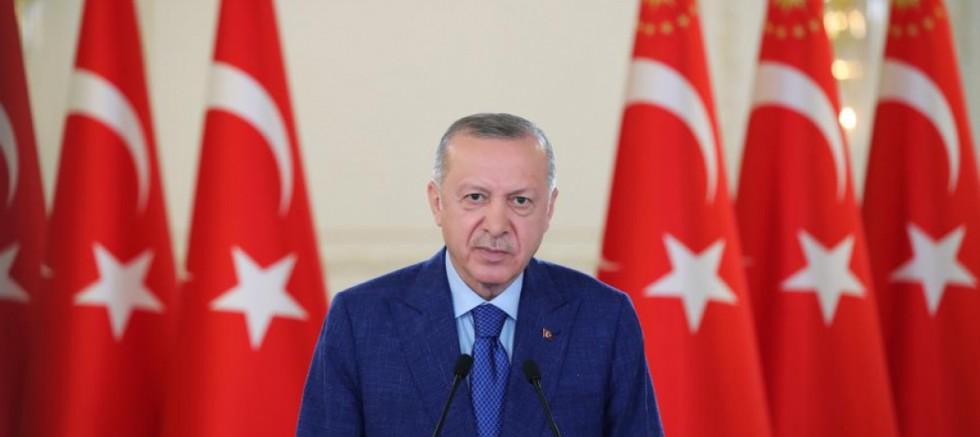 Erdoğan 'Sakarya Sahası Gaz Yakma Töreni'ne katıldı