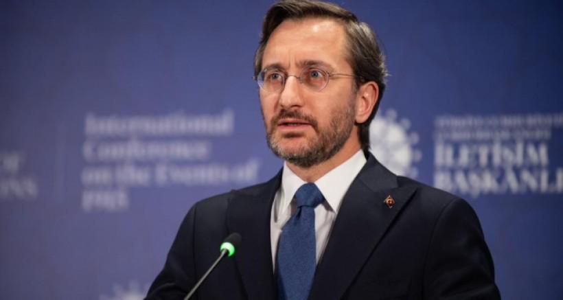 Fahrettin Altun: '156 yangının 147'si kontrol altına alındı'