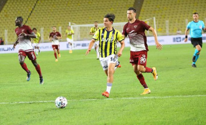Fenerbahçe - Atakaş Hatayspor: 0-0