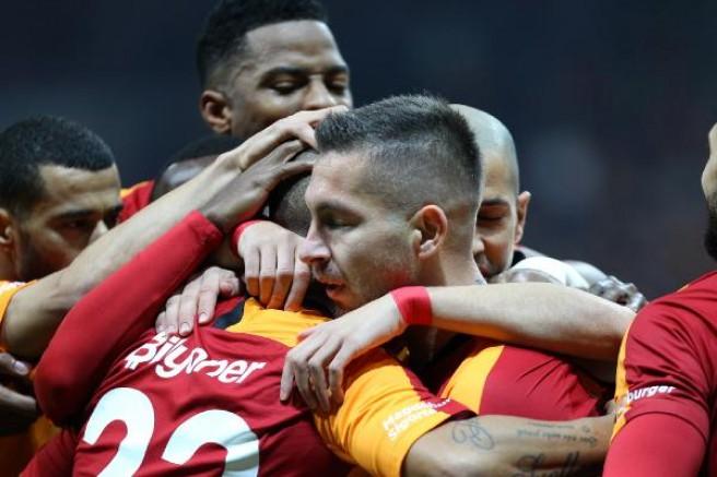Galatasaray tırmanışta