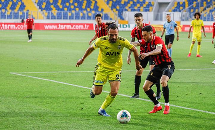 Gençlerbirliği - Fenerbahçe: 1-1