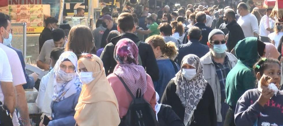 Güneşi gören İstanbullular sokağa döküldü