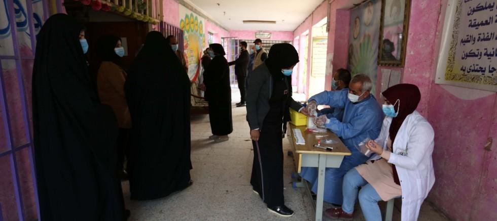 Irak'ta günlük vaka sayısında rekor
