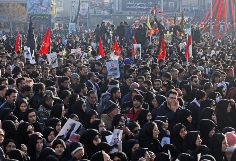 İran'da izdiham: 56 ölü