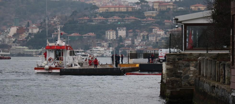 İstanbul Boğazı'nda intihar
