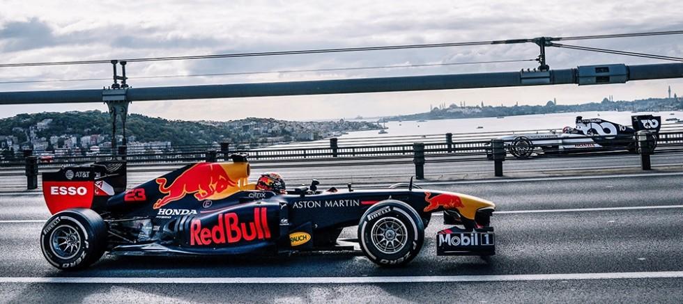 İstanbul'daki F1 filmi tüm dünyada yayında