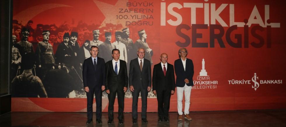 'İstiklal' sergisi İzmir'de