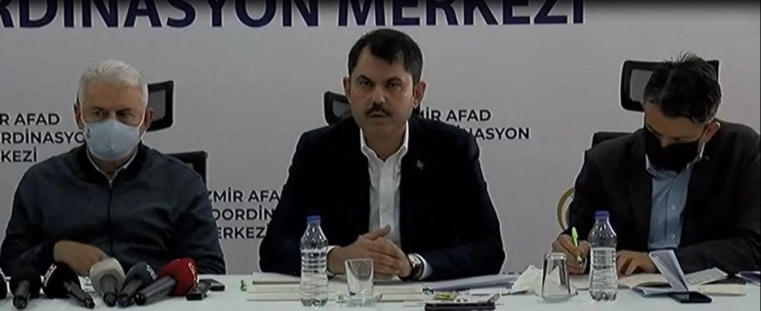 İzmir'de şu ana kadar 100 kişi kurtarıldı