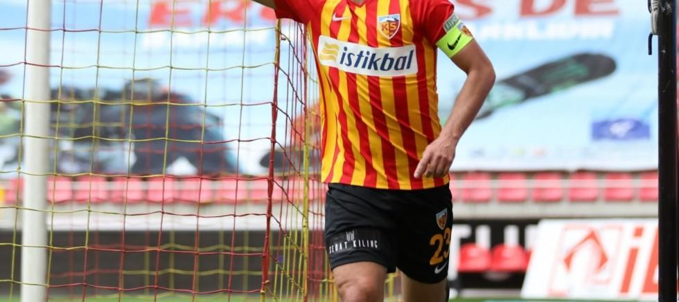 Kayserispor'un en golcüsü İlhan oldu