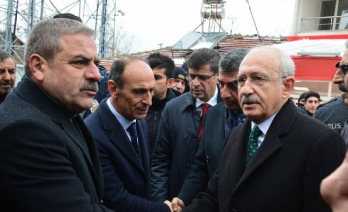 Kılıçdaroğlu depreme yakalandı