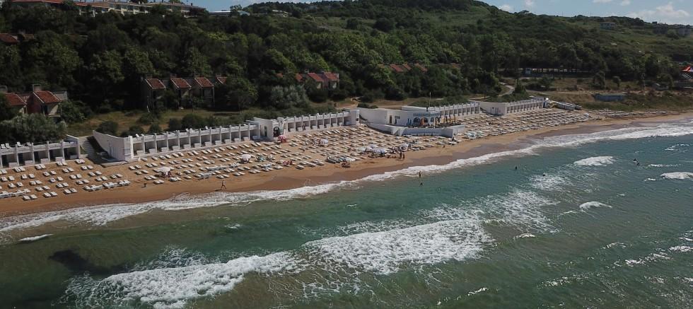 Kilyos'ta vatandaşların ücretli plaj tepkisi
