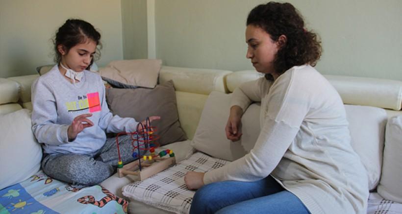 Kızı için öğretmenliği bırakan anne yardım bekliyor
