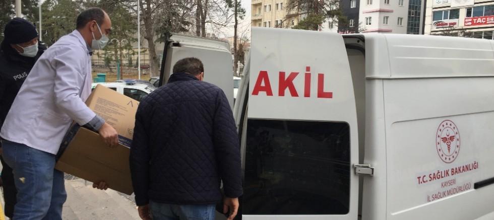 Korona Virüs Aşıları Kayseri'de Hastaneler Tarafından Temin Edilmeye Başlandı