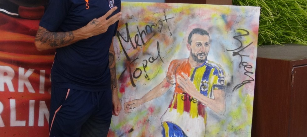 Mehmet Topal'dan bir ilk daha