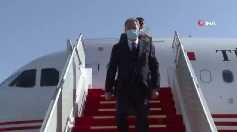 Milli Savunma  Bakanı Ve Genelkurmay Başkanı'ndan Irak Ziyareti