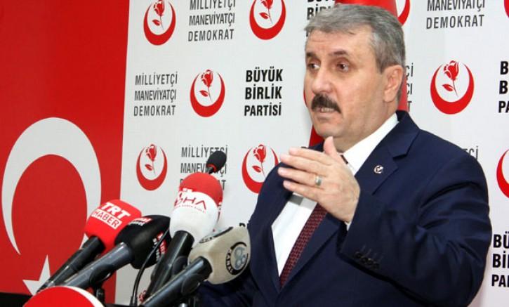 Mustafa Destici, yeniden genel başkan