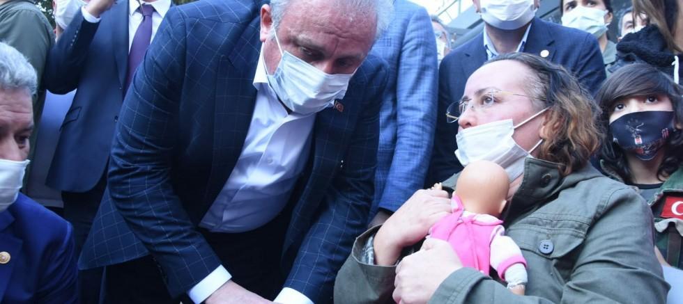 Şentop'tan kızları enkaz altındaki Nilay Yücel'e ziyaret