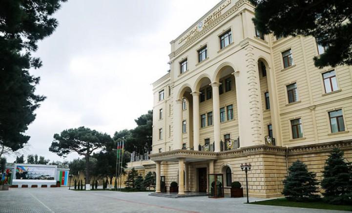 Son dakika! Azerbaycan Savunma Bakanlığı'ndan açıklama