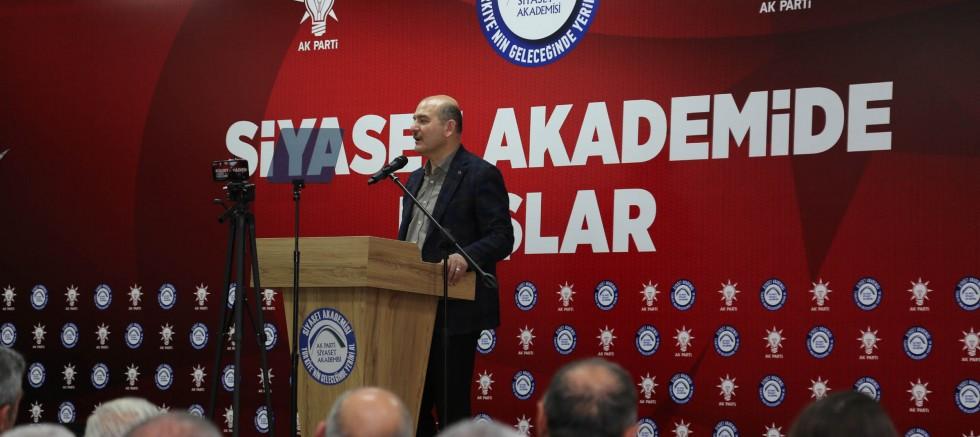 Soylu'dan Abdullah Gül'e tepki