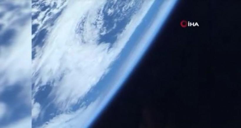 SpaceX astronotu yörüngeden Dünya'yı görüntüledi