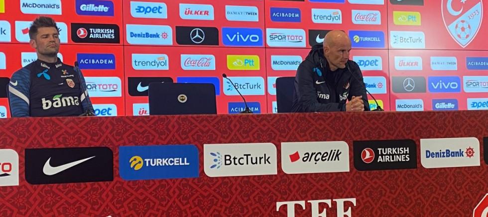 """Stale Solbakken: """"Türk forvetlerini durdurmak için her şeyi yapacağız"""""""