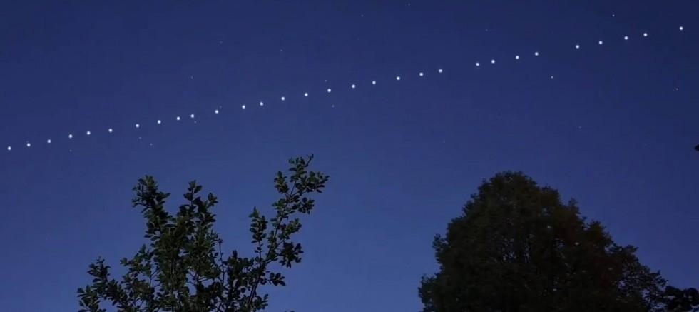 Starlink uyduları Şırnak semalarını aydınlattı