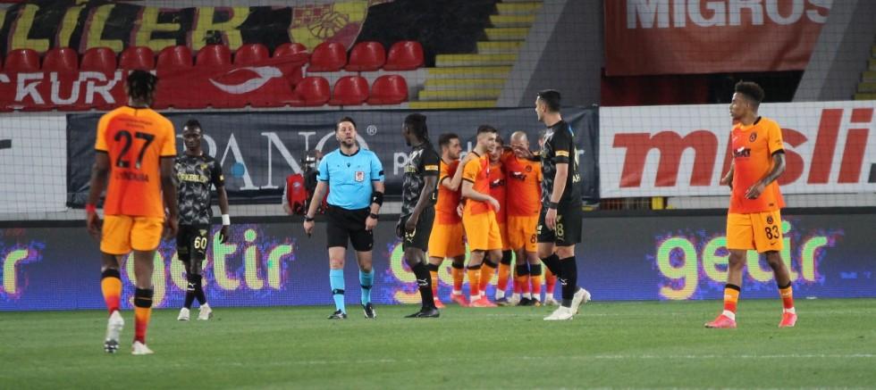 Süper Lig: Göztepe: 1 - Galatasaray: 3