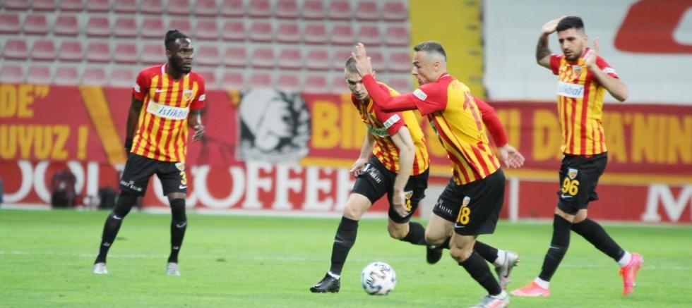 Süper Lig'in en az gol atan takımı Kayserispor oldu