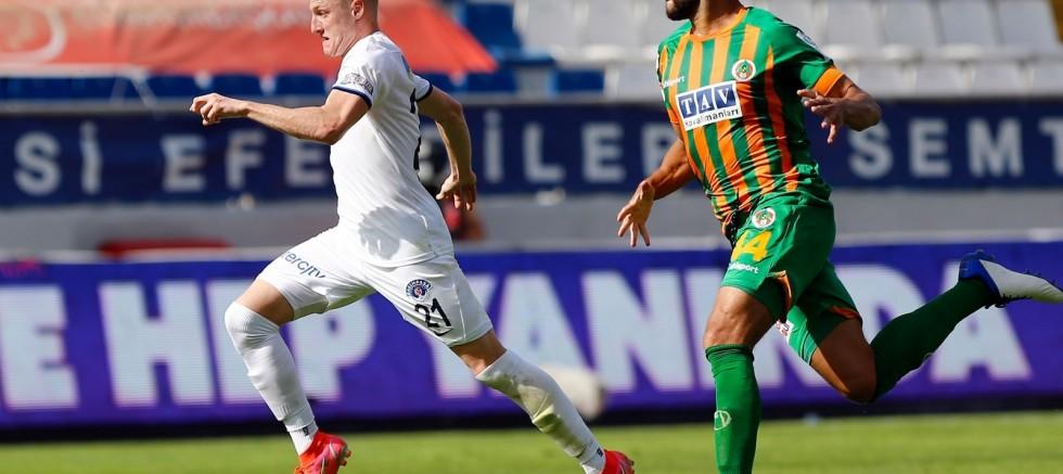 Süper Lig: Kasımpaşa: 3 - Aytemiz Alanyaspor: 0